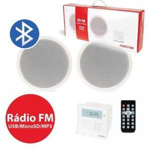 Kit Som Ambiente 2 x 1 Bluetooth