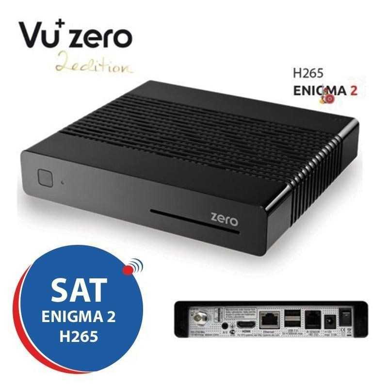 SAT Receiver Vu+ Zero Black