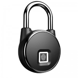 Smart Round Lock Amiko - Fingerprint