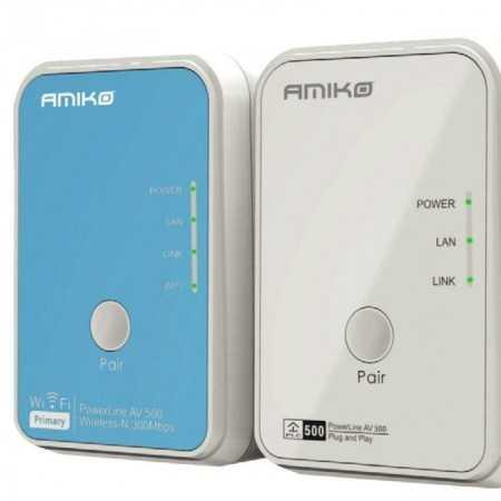 Powerline wi-fi Network Amiko