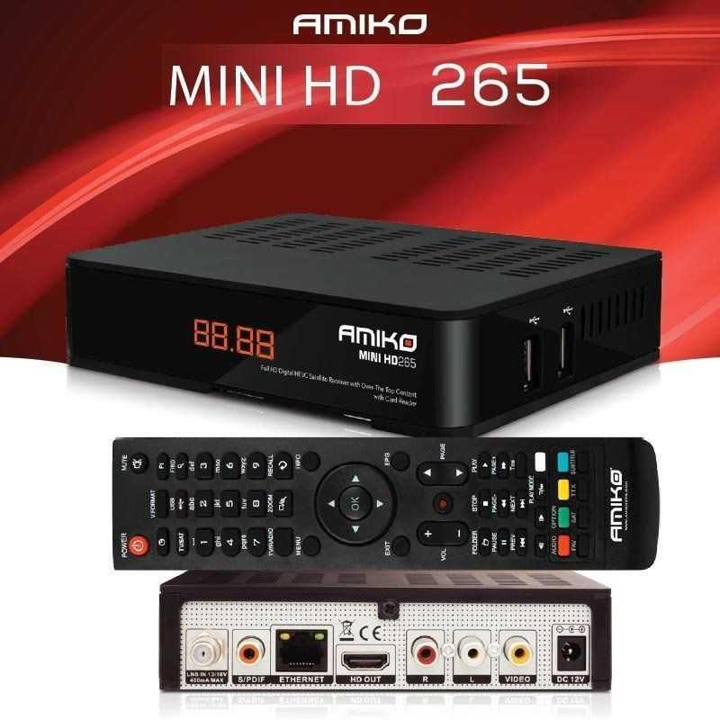 Amiko HD265 KIT Ecnomico