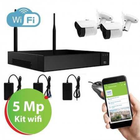 Amiko Kit WiF 2 Cameras -  4CH5MP200