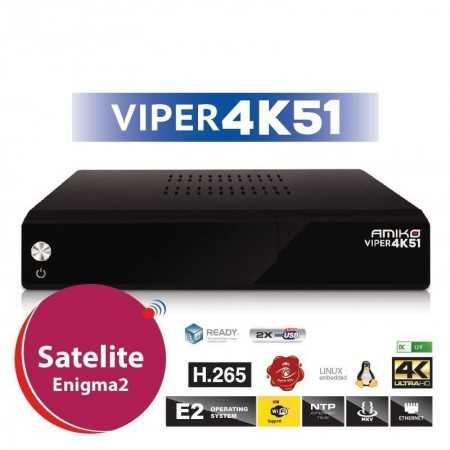Amiko Viper 4K51 - DVB-S2