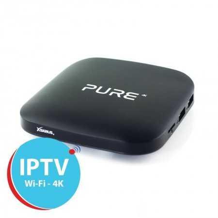 Xsarius Pure - IPTV Android - 4K