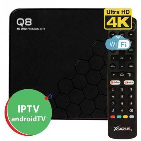 Xsarius Q8 - IPTV - 4K