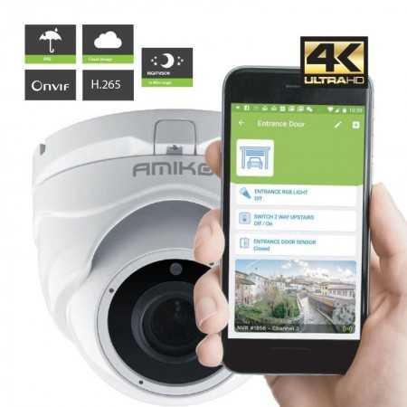 Amiko Câmera IP D20M4K POE