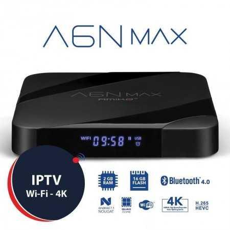 Amiko A6N MAX - 4K - 2GB/16GB