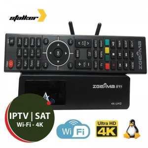 ZGemma H9S 4K SAT & IPTV STB