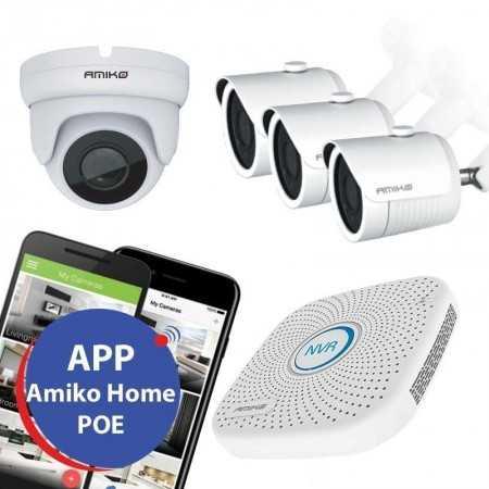 KIT Video-Vigilância POE - 1Bx3D 1080P - 1TB