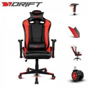 Cadeira Gaming Drift DR85 - Preta/Vermelha