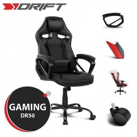 Cadeira Gaming Drift DR50 - Preta
