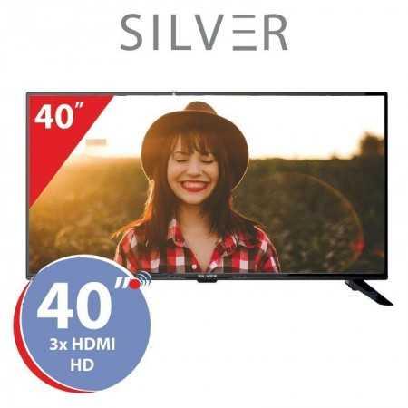 """TV LED 40"""" Silver - LE411061 - HD"""