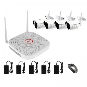 Video Surveillance Kit - WIFI-4CAM4CH2MP