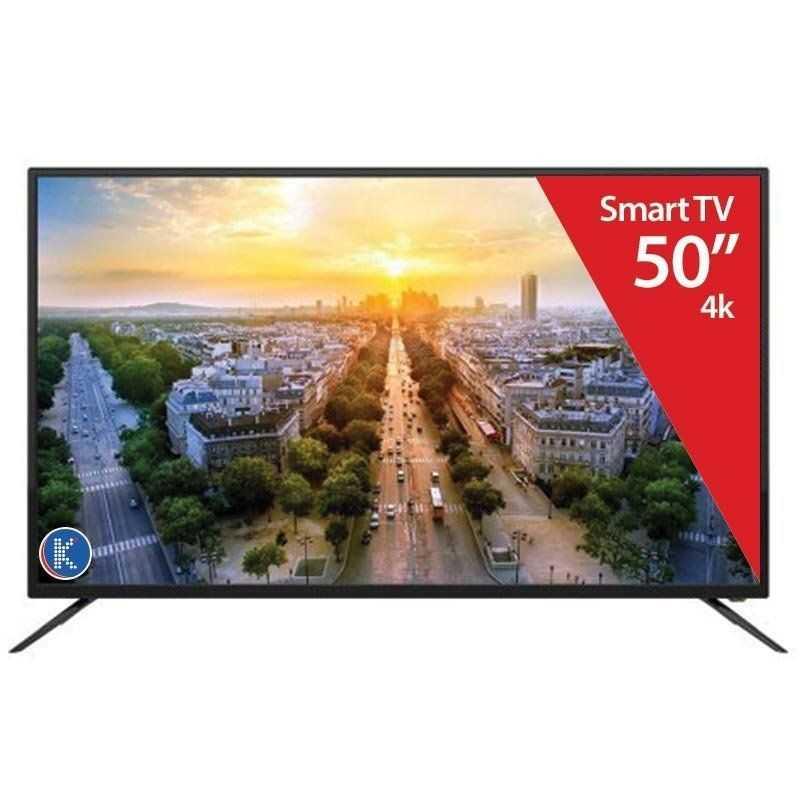 """Smart TV Silver 50"""" - 4k - 41134"""