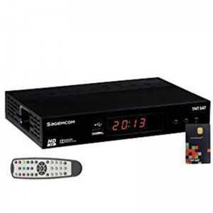 Sagemcom DS81 HD - Sat.Astra + TNT Card