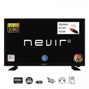 "TV DLED 22"" Nevir – NVR-7708-22FHD2N – Full HD"