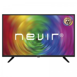 "TV LED 32"" HD Black Nevir - NVR-7707-32RD2-N"