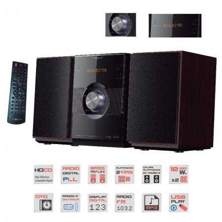 Radio with DVD Nevir
