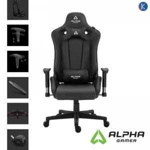 Cadeira Gaming - Alpha Gamer Zeta - Preta