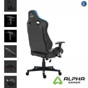 Alpha Gamer Zeta Black/Blue Gaming Chair