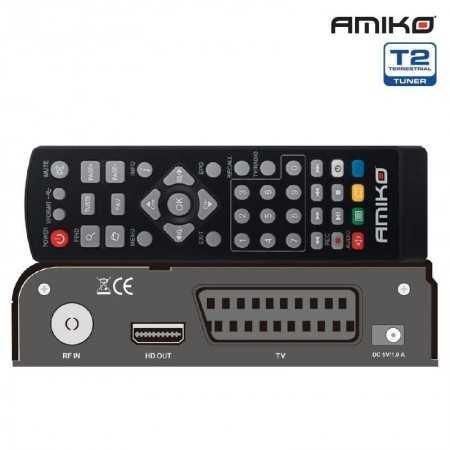 Amiko T765 - DVB-T TDT HEVC
