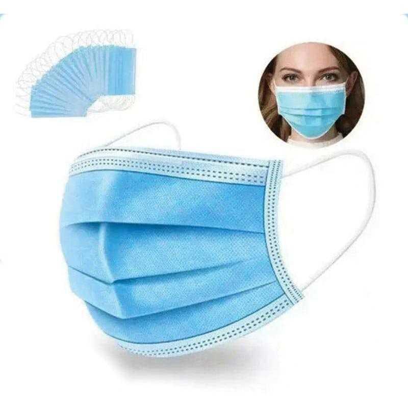 Máscara de Protecção - Cirúrgica - 3 Camadas