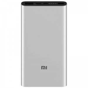 Power Bank 10000mAh Xiaomi Mi  3  Fast Charge Cinza