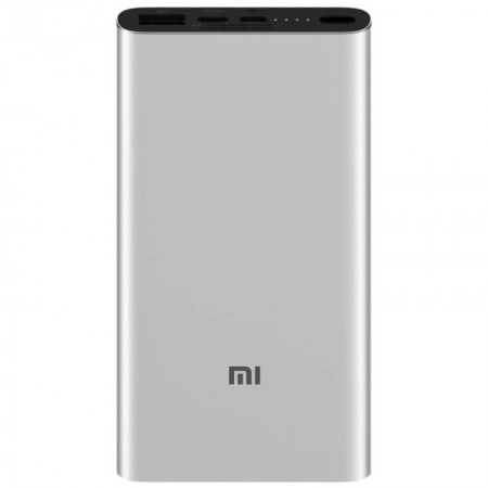 Power Bank 10000mAh Xiaomi Mi  3  Fast Charge Cinza