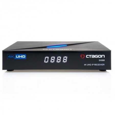 Octagon SX888 IP 4K - Linux