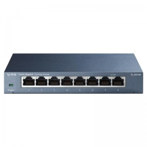 TPLink Network Switch - Gigabit - 8 Ports - TL-SG108