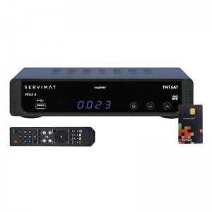 Servimat Veg2 TNT SAT HD+