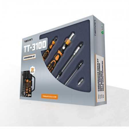 Kit de Ferramentas TT3100