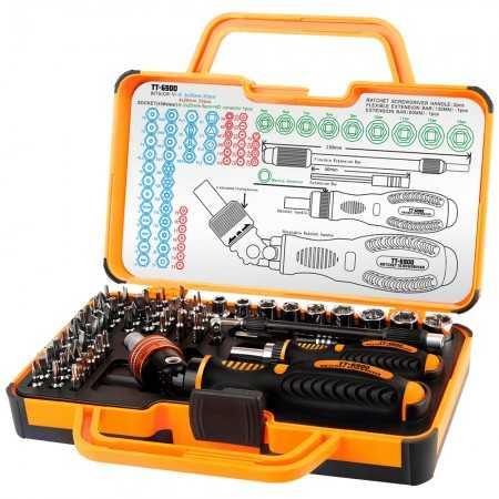 Kit de Ferramentas TT6900 - Profissional Bit Toman - 69pcs