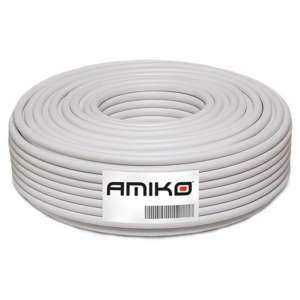 Cabo Coaxial RG6 100M -...