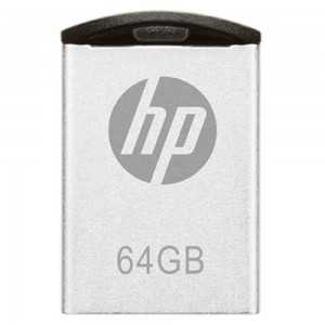 Pendrive 64GB USB 2.0 HP V222W Preto