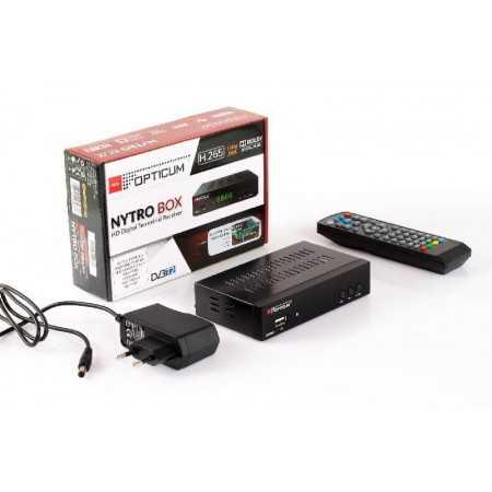 Opticum - Nytro Box Plus - DVB-T2/C