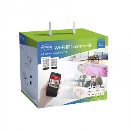 Amiko Kit 6900  6 Camaras Wi-Fi